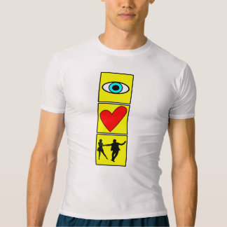 i love west coast swing/dance T-Shirt