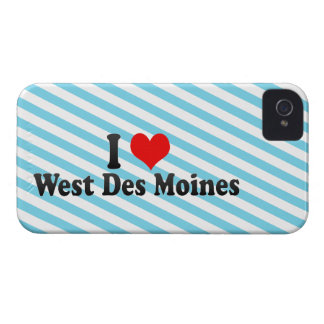 I Love West Des Moines, United States iPhone 4 Cover