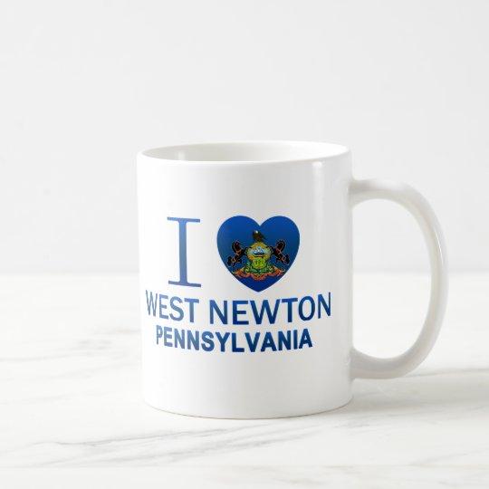 I Love West Newton, PA Coffee Mug