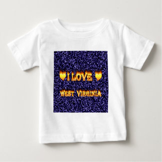 I love west virginia fire and flames shirt
