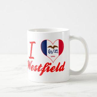 I Love Westfield, Iowa Basic White Mug