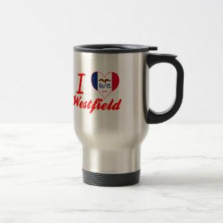 I Love Westfield, Iowa Stainless Steel Travel Mug