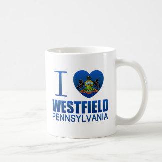I Love Westfield, PA Mugs