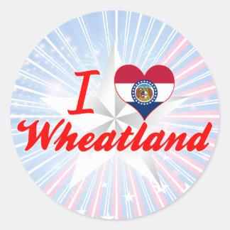 I Love Wheatland, Missouri Sticker