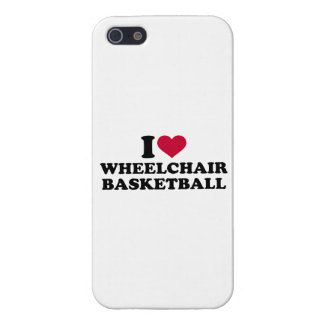 I love wheelchair basketball iPhone 5/5S covers