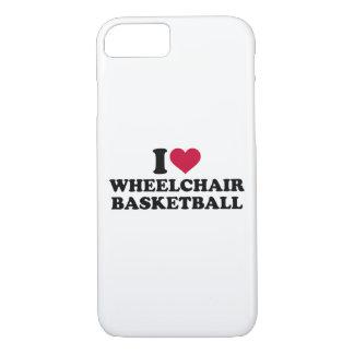 I love wheelchair basketball iPhone 7 case