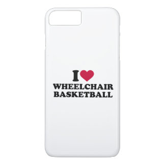 I love wheelchair basketball iPhone 7 plus case