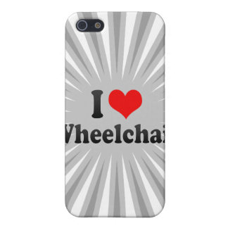 I love Wheelchair iPhone 5 Case