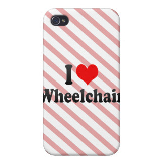 I love Wheelchair Case For iPhone 4