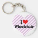 I love Wheelchair Keychains