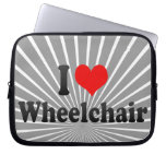 I love Wheelchair Laptop Computer Sleeves