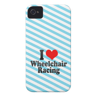 I love Wheelchair Racing Case-Mate iPhone 4 Case