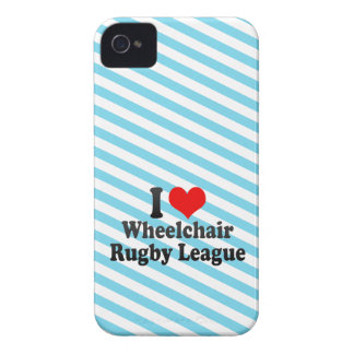 I love Wheelchair Rugby League Blackberry Case