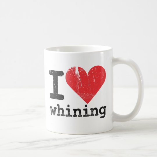 I love whining Classic White Mug