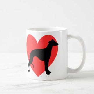 I Love Whippets Coffee Mug
