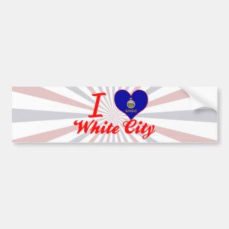 I Love White City, Kansas Bumper Stickers