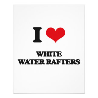 I love White Water Rafters Flyer Design