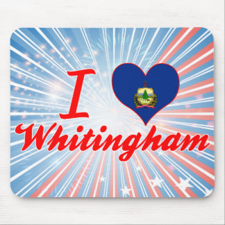 I Love Whitingham, Vermont Mouse Pads