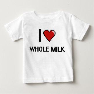 I Love Whole Milk Tee Shirts
