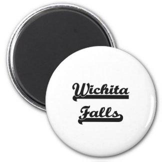 I love Wichita Falls Texas Classic Design 6 Cm Round Magnet