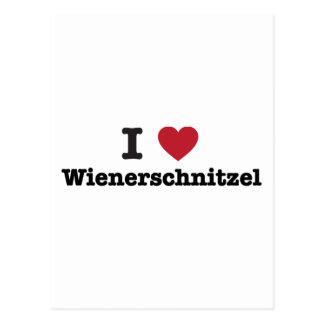 I Love wienerschnitzel Postcard