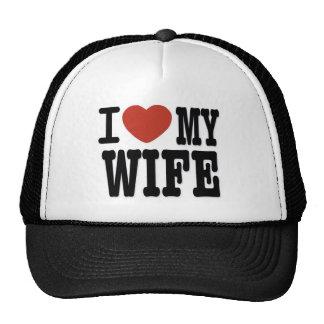 I LOVE WIFE MESH HATS