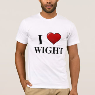 I Love Wight T-Shirt