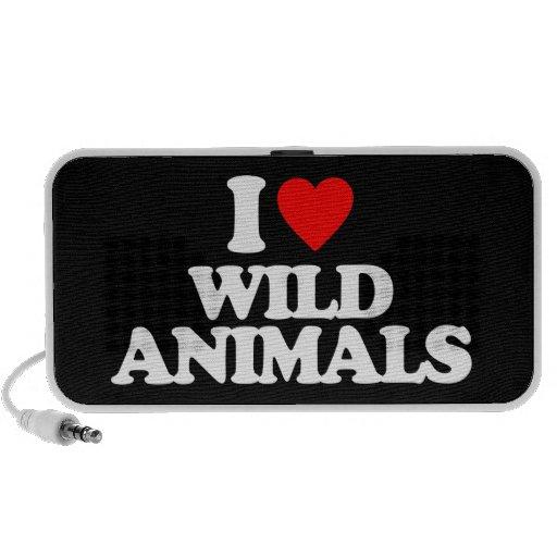 I LOVE WILD ANIMALS SPEAKERS
