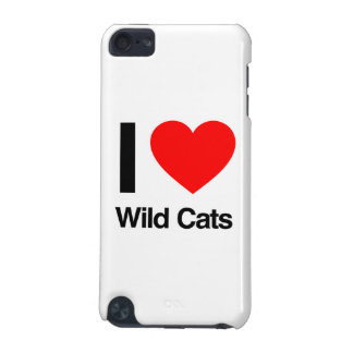 i love wild cats iPod touch 5G cases