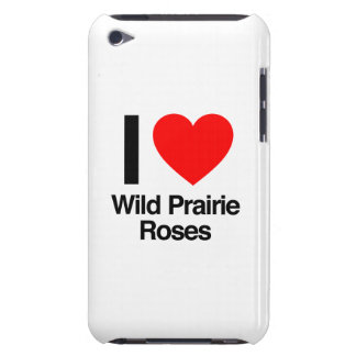 i love wild prairie roses Case-Mate iPod touch case