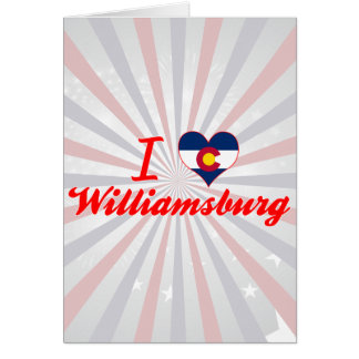 I Love Williamsburg, Colorado Cards