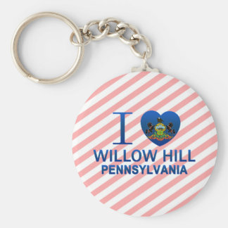 I Love Willow Hill, PA Key Chain