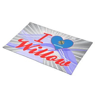 I Love Willow, Oklahoma Place Mat