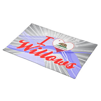 I Love Willows, California Place Mats