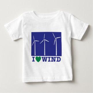 I Love Wind Baby T-Shirt