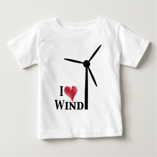 i love wind energy baby T-Shirt
