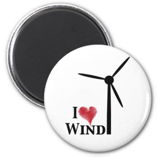 i love wind energy magnet