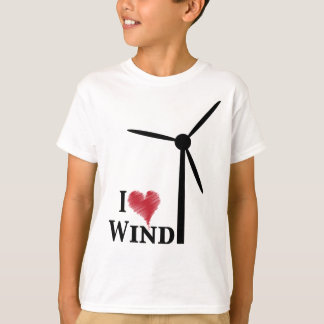 i love wind energy t-shirts