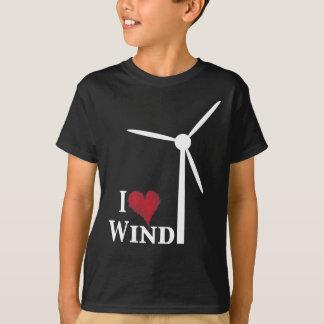 i love wind energy tees