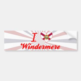 I Love Windermere, Florida Bumper Sticker