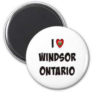 I Love Windsor, Ontario Magnet