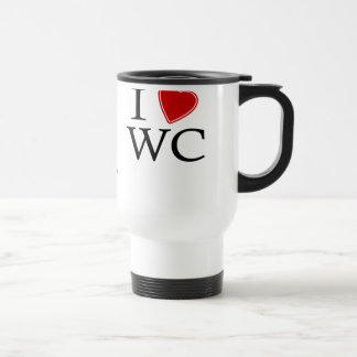 I Love Windy City Stainless Steel Travel Mug