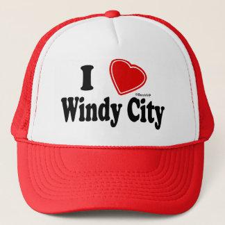 I Love Windy City Trucker Hat