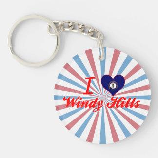 I Love Windy Hills, Kentucky Key Chain
