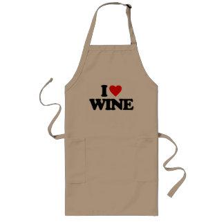 I LOVE WINE APRONS