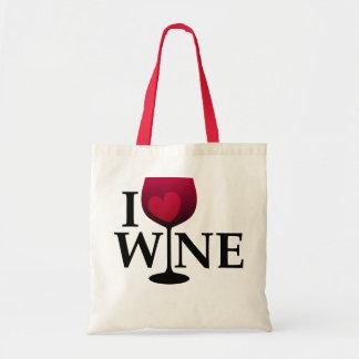 I Love Wine Bag