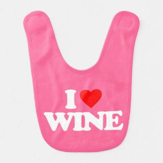 I LOVE WINE BIB
