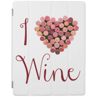 I Love Wine iPad 2/3/4 Cover iPad Cover