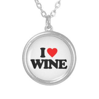 I LOVE WINE CUSTOM JEWELRY