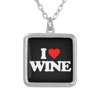 I LOVE WINE PENDANT